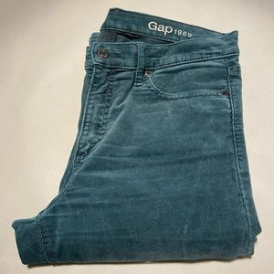 Gap 1969 Modern Stretch True Skinny Corduroy Pants